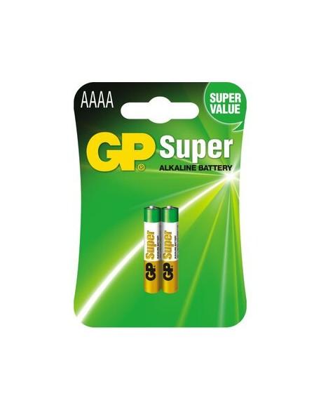 Bateria GP Super AAAA / LR61 / 25A / LR8D425 / MN2500 / MX2500 / E96   EAN: 4891199058615