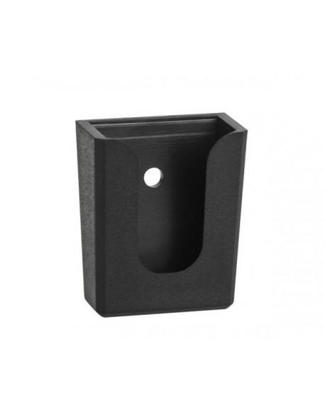 Uchwyt wieszak mikrofonu CB czarny plastikowy