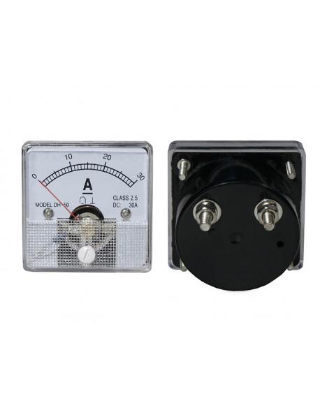 Miernik analog.amper.kw.30A+bocznik
