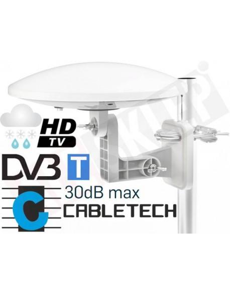 Antena zewnętrzna dookólna do cyfrowej telewizji naziemnej DVB-T